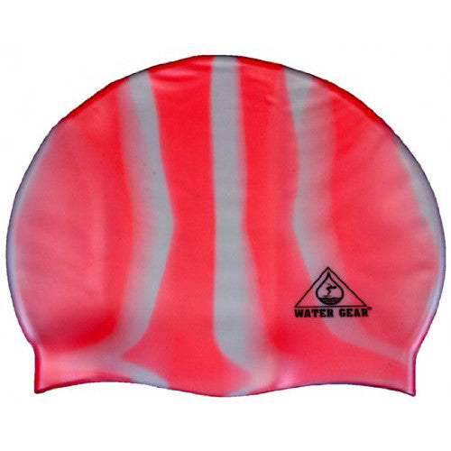 Water Gear Jazz Silicone Cap CPink/White