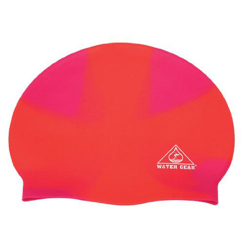 Water Gear Jazz Silicone Cap X-Orange/Pink