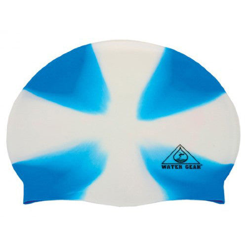 Water Gear Jazz Silicone Cap X-White/Blue