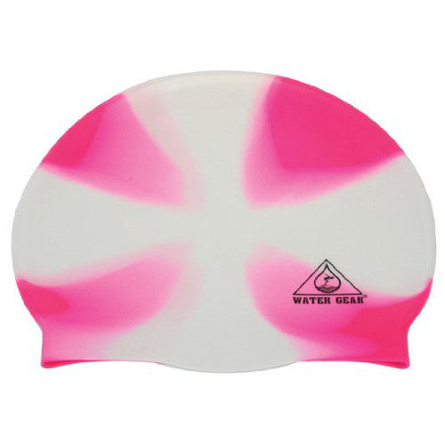 Water Gear Jazz Silicone Cap X-White/Pink