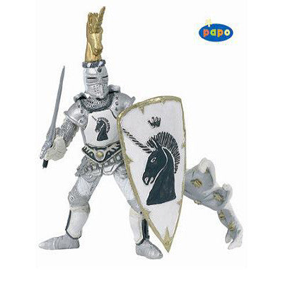 Papo Silver Knight Unicorn