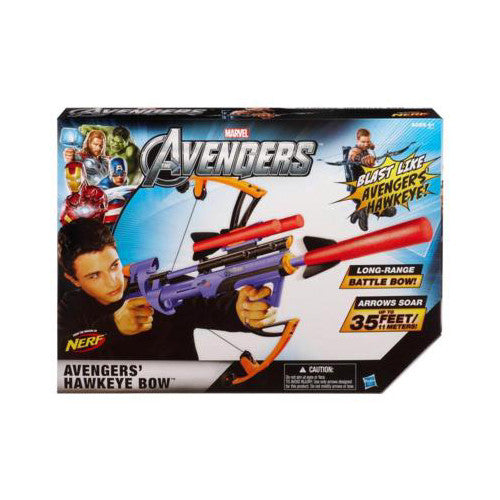 Hasbro Capt America Hawkeye Big Bad Bow