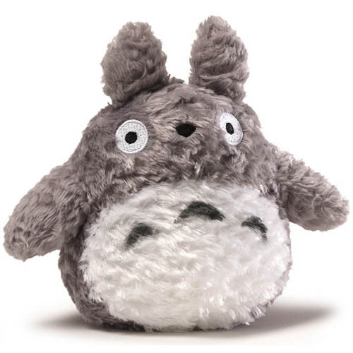 Gund Fluffy Big Totoro Grey