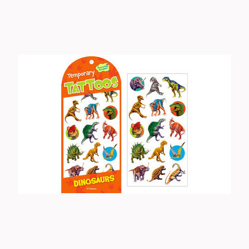 Peaceable Dino Tattoo Card