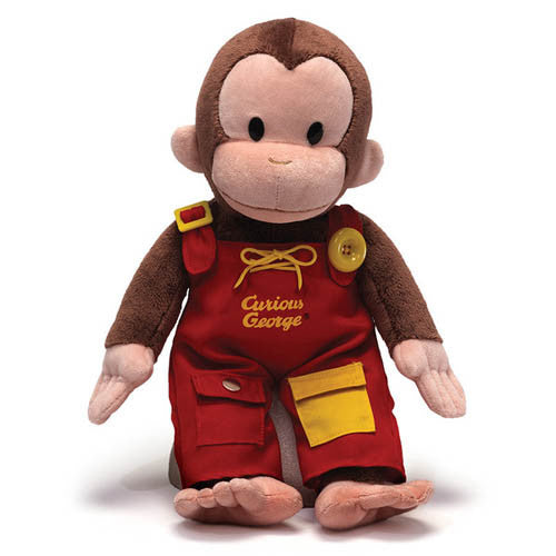 Gund Curious George Teach Me