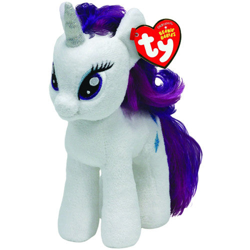 TY My Little Pony Rarity Beanie Baby