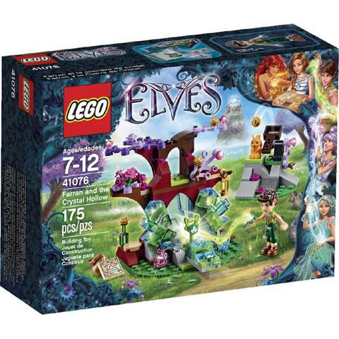 Lego Elves Farran and the Crystal Hollow