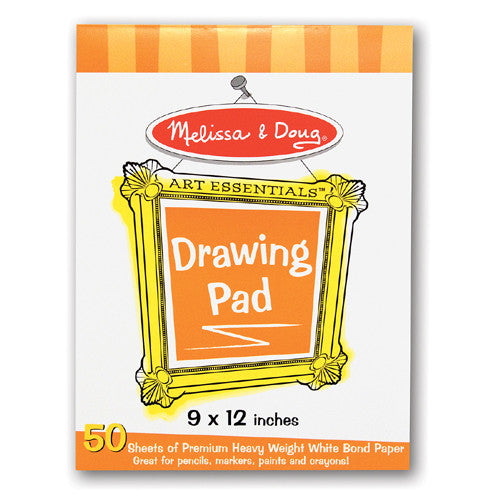 "M&D 9"" x 12"" Drawing Pads"