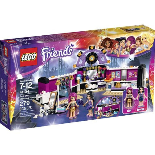Lego Friends Pop Star Dressing Room