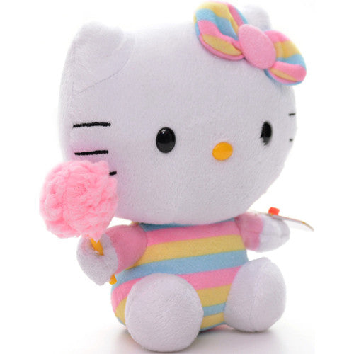 TY Hello Kitty Cotton Candy Small