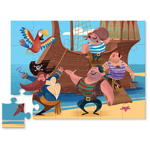 Croc Creek 24pc Pirates Mini Puzzle