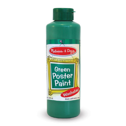 M&D Green Poster Paint