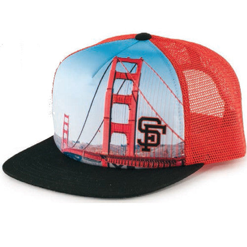 American Needle Above it All San Francisco Giants One Size