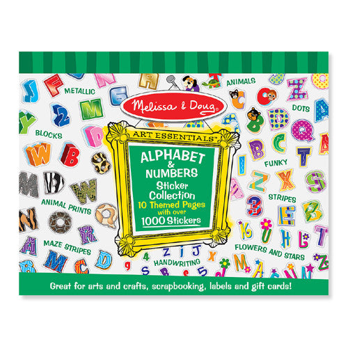 M&D Alphabet & Numbers Pad