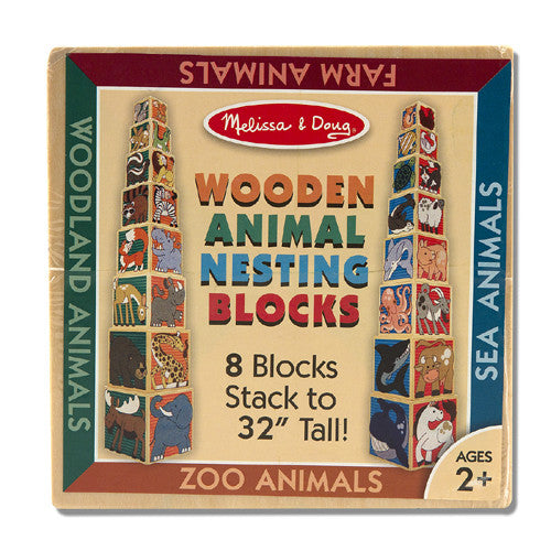 M&D Wood Animal Nesting Block