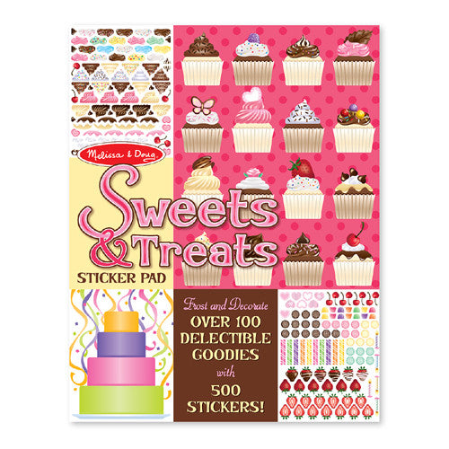 M&D Sweet & Treats Sticker Bk