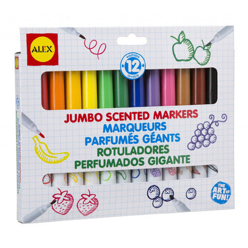 Alex 12 Jumbo Scented Markers