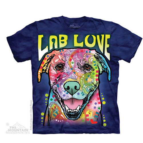 The Mountain Tee S/S Lab Love Small