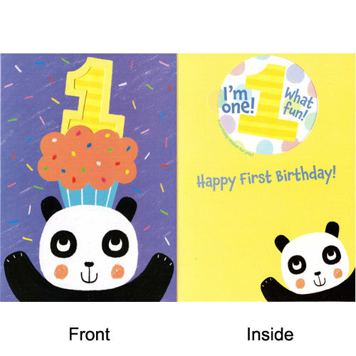 Peaceable Happy First Birthday!