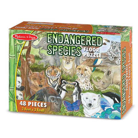 M&D Endangered Species Puzzle(48pcs)