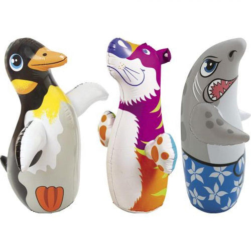 "Intex 38"" Animals 3-D Bop Bags"