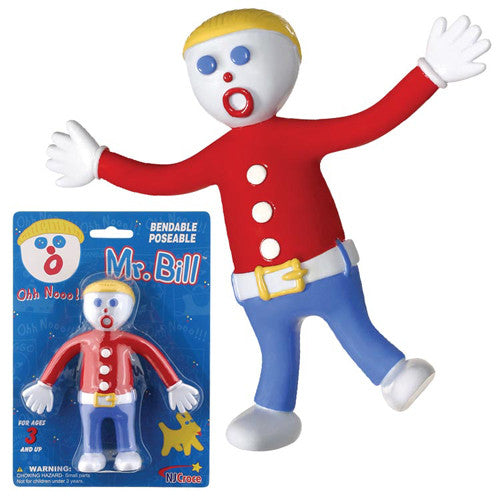 Toysmith Mr. Bill Poseable Figurine