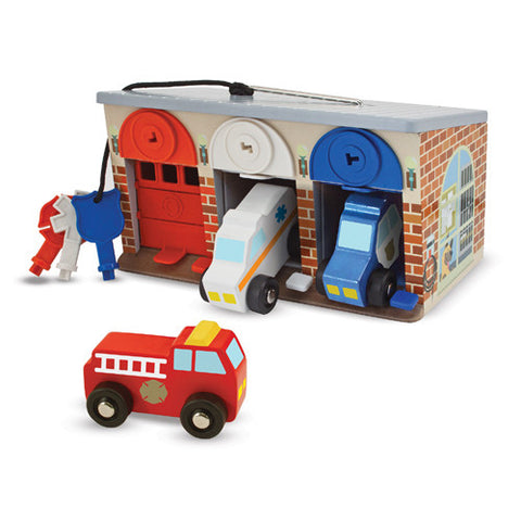 M&D Lock & Roll Rescue Truck Garage