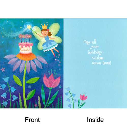 Peaceable Fairy Birthday Wishes