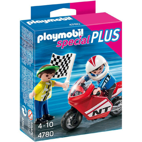 Playmobil Boys with Racing Bike