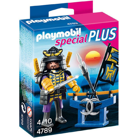 Playmobil Samurai with Weapon Stand