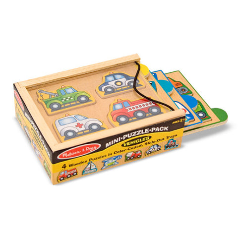 M&D Vehicles Mini-Puzzle Pack
