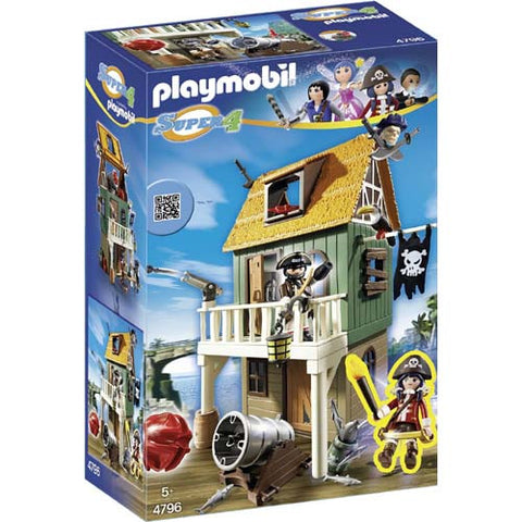Playmobil Super 4 Caouflage Pirate Fort