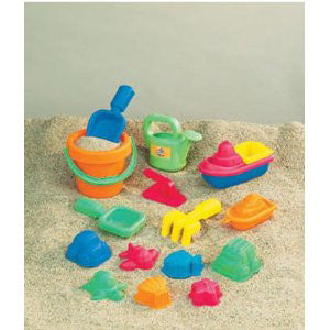 Small World Toys 15pc Sand Set