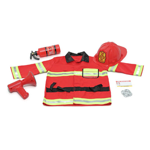 M&D Fire Chief Dress Up Set