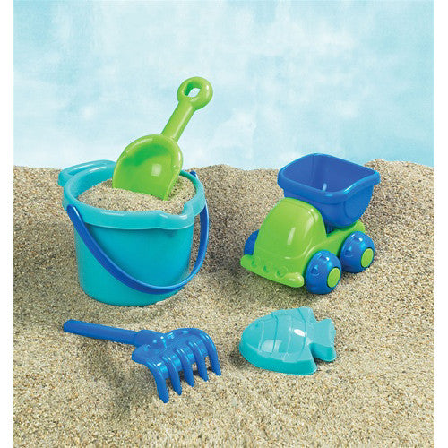 Small World 5pc Boys Beach Set