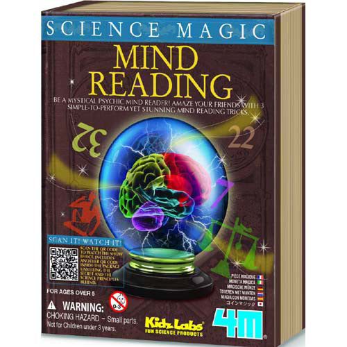 4M Science Magic Mind Reading