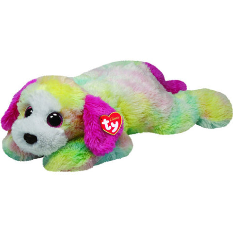 TY Yodel Rainbow Dog Xtra Large