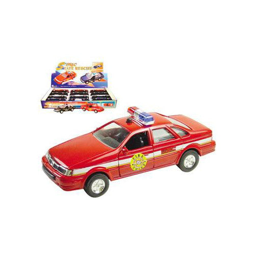 Master Toy Light & Sound Rescue Car