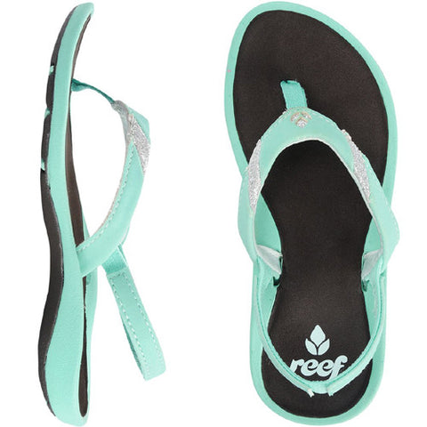 Reef Little Splash of Stars Turquoise 3/4 Below One