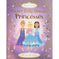 Usborne Sticker Dolly Dressing Princess