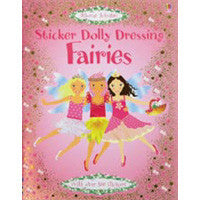 Usborne Sticker Dolly Dressing Fairies