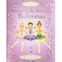 Usborne Ballerinas Dressing Sticker