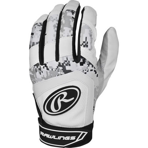 Rawlings Batting Gloves Digicamo Blk MD