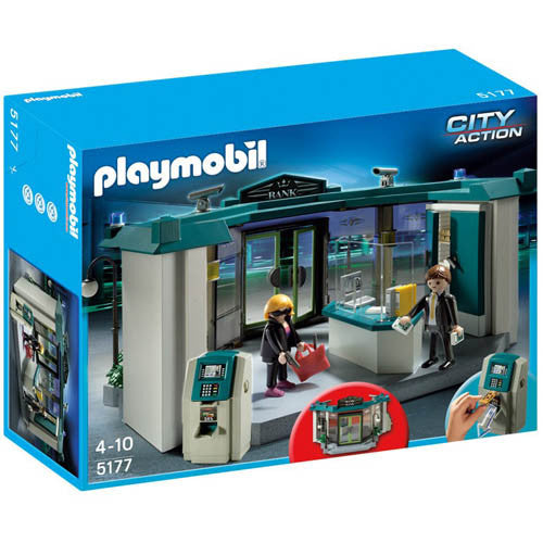 Playmobil Bank with Safe