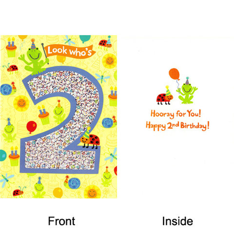 Peaceable Hooray! Happy 2nd Birthday