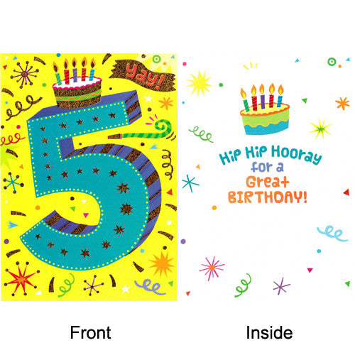 Peaceable Age 5 Hip Hooray for Great Bda