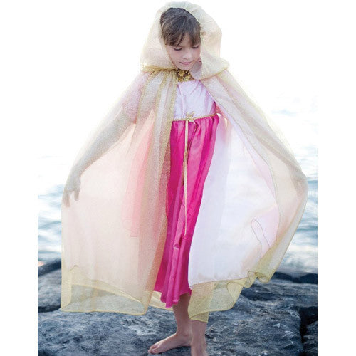 Creative Royal Princess Cape Gold/Pink