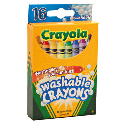 Crayola 16ct Washable Crayola Crayons