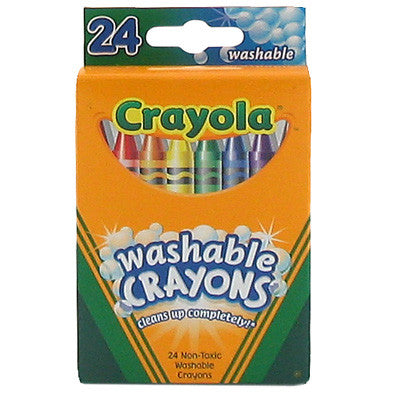 Crayola 24ct Washable Crayola Crayons
