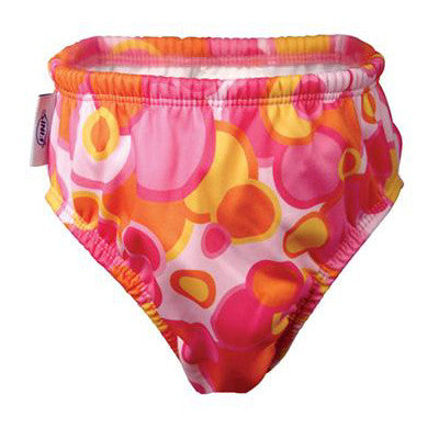 Finis Swim Diaper Pink Bubble MD